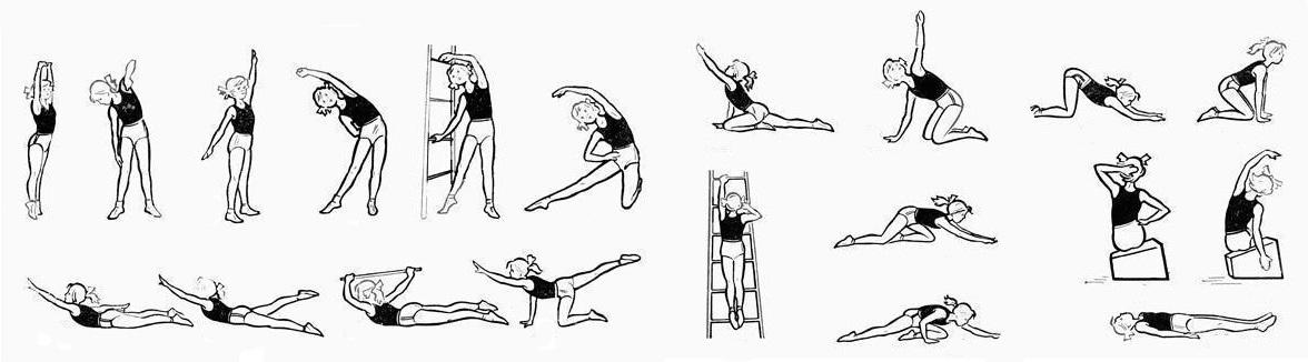 Фото: Упражнения при грыже шеи по Бубновскому
