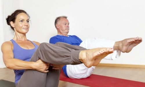 Лечебные упражнения назначаются для укрепления передней брюшной стенки