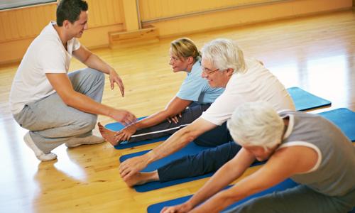 При грыжах межпозвоночных дисков часто назначают лечебную физкультуру