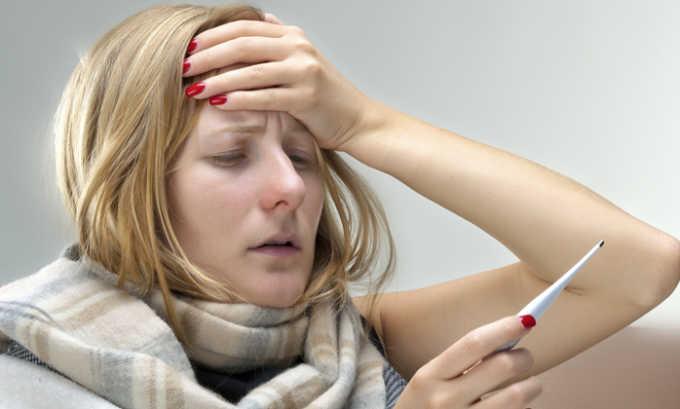 Не советуют делать массаж при повышенной температуре тела
