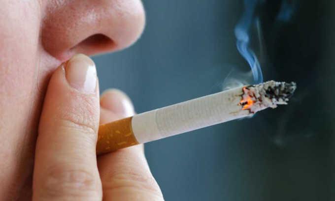 Курение способствует появлению грыжи