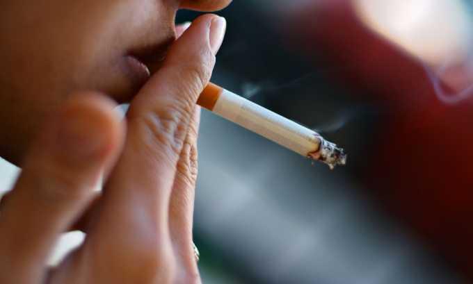 В группе риска находятся курильщики