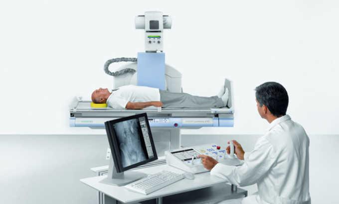Рентген применяется для исследования позвоночника