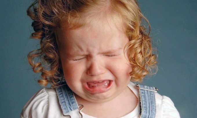 Одной из причин приобретённой грыжи может стать плач