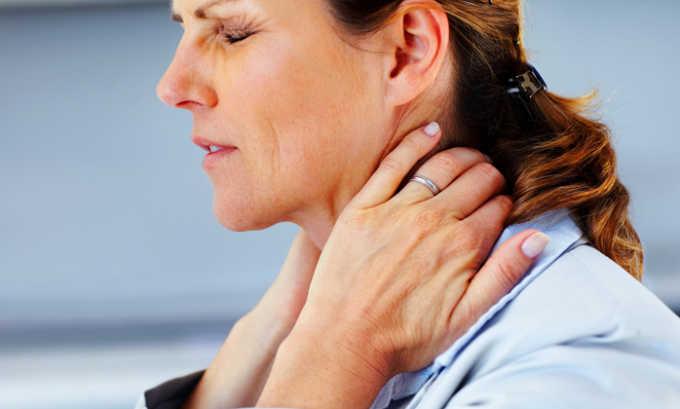 Пациенты приходят к врачам с жалобами на боли в шее