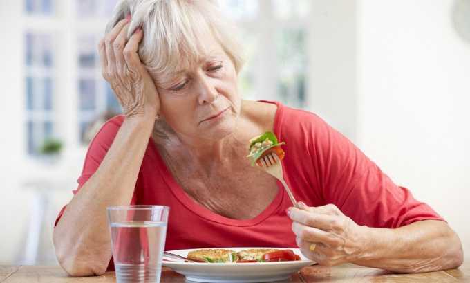 Снижение аппетита один из симптомов поражения пищеводного отверстия