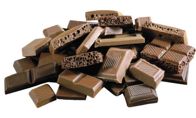 Шоколад также исключается из рациона