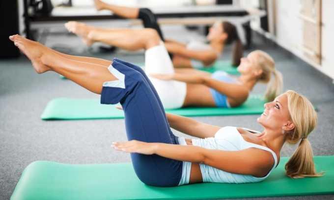 Кроме занятий йогой, для укрепления мышц спины, комплексной терапии и профилактики грыжи отделов позвоночника, расположенных в пояснице и крестце, рекомендована лечебная гимнастика, или пилатес