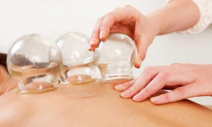 Баночный, или вакуумный массаж выполняется при помощи специальных пневматических или простых стеклянных банок