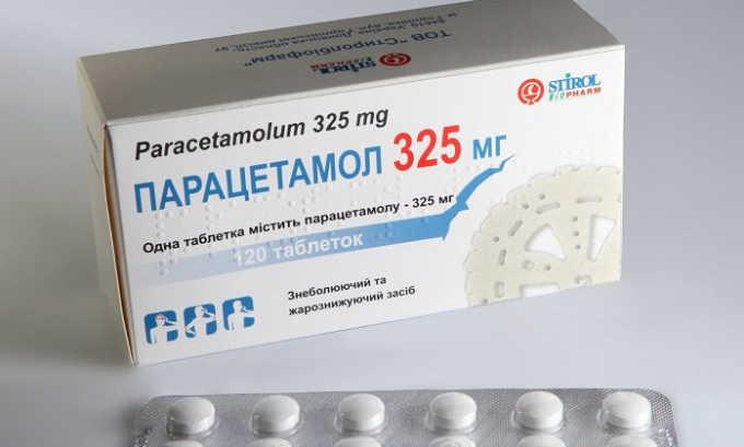 Больному могут прописать прием Парацетамола, который является анальгетиком ненаркотического характера