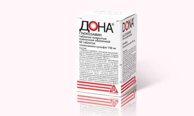 Препарат Дона выполняет защитную функцию, которая предотвращает деформацию хрящевых тканей, что обеспечивается путем нормализации обменных процессов на клеточном уровне