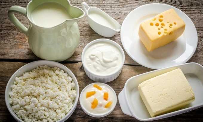 При реабилитации в ежедневный рацион больного должны входить кисломолочные продукты