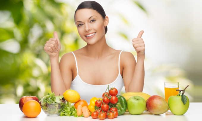 Для профилактики нужно придерживаться принципов здорового питания