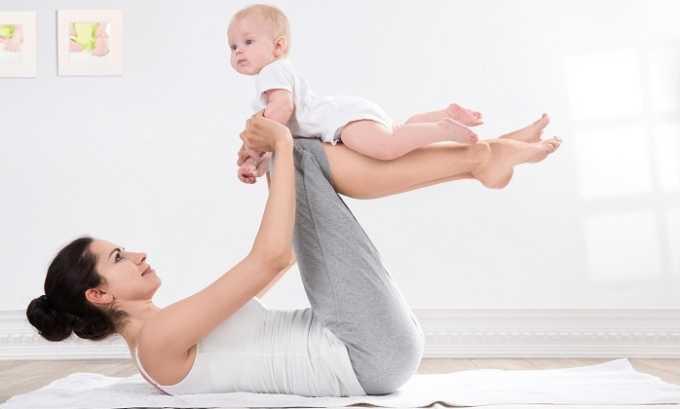 Послеоперационное лечение включает лечебную гимнастику для мышц пресса