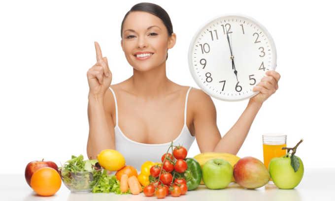 Cоблюдение режима питания как профилактическая мера