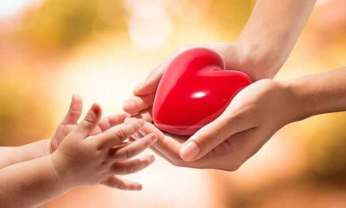 Лапароскопия не проводится, если малыш страдает от болезней сердца