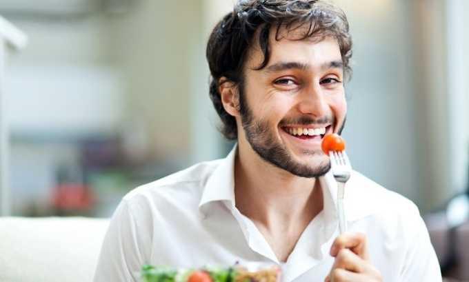 Мужчина должен для быстрейшего восстановления здоровья правильно питаться