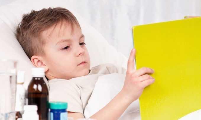 При принятии ребенком лежачего положения грыжевое образование уменьшается