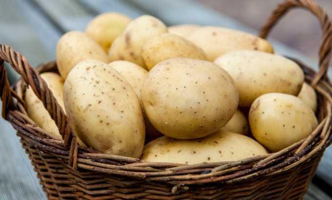 Компресс из сырого картофеля оказывает обезболивающий эффект