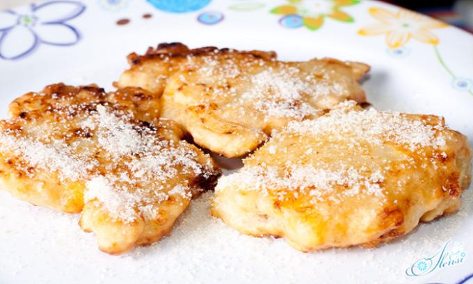 Десерт из творога с бананами также может являться неотъемлемой частью диеты больного