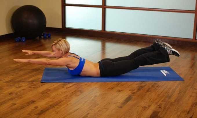 Дома занятия на тренажере можно заменить упражнением