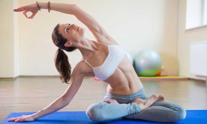 После окончания терапевтического лечения и при реабилитации полезна йога