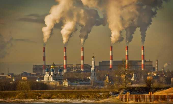 Проживание в экологически неблагоприятной среде - причина способствующий патологическим изменениям в позвоночнике
