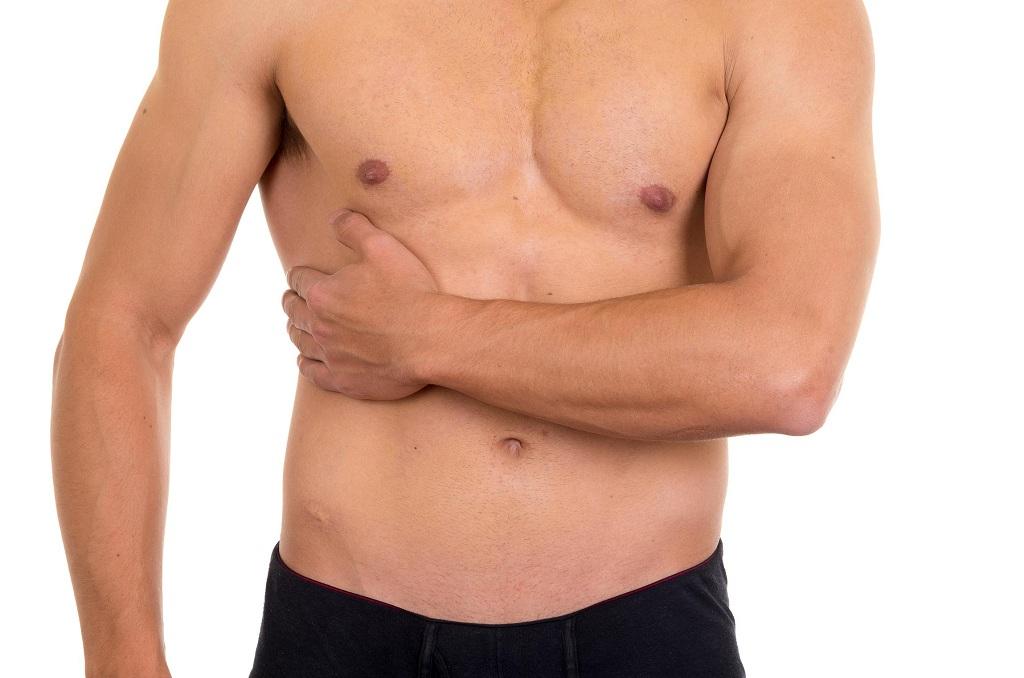 Фото: Симптомы боли при грыже груди