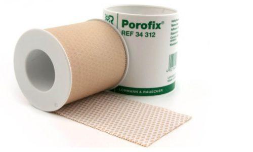Пластырь Порофикс может использоваться для лечения грыжи у новорожденных