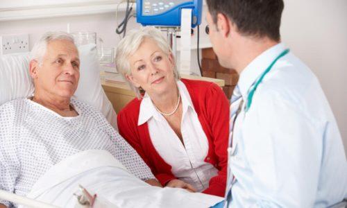 Первые 1-2 дня после операции пациент соблюдает постельный режим, вставать разрешают на 2-3 день
