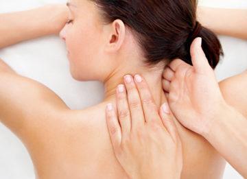 Проведение массажа при грыже шейного отдела позвоночника